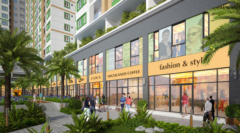 can ho tang tret mat tien shop melody residences au co